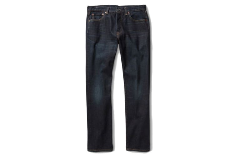 Levi's Men's 501 Original Shrink-To-Fit Jeans - Rigid (Size 38)