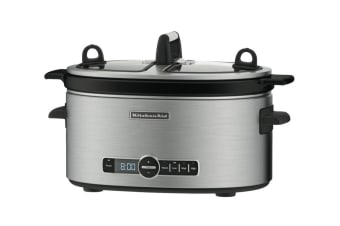 KitchenAid Artisan Slow Cooker - Stainless Steel (5KSC6222ASS)