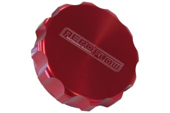 Aeroflow Replacement Billet Cap Suits -32 Base Red Anodised