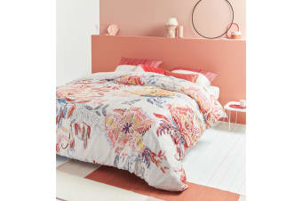 Beautiful Mess Multi Cotton Quilt Cover Set by Oilily