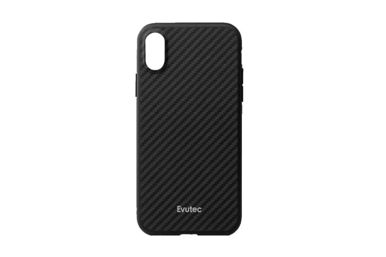 pretty nice c2b2a f6021 Evutec iPhone XR Karbon Case with BONUS AFIX+ Magnetic Car Mount - Karbon