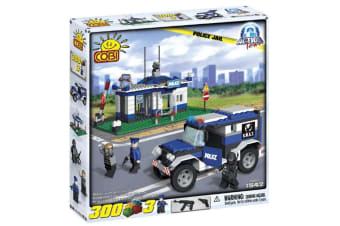 Action Town 300 Piece Police Jail Construction Set