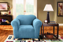SureFit Pearson Sofa Chair Cover - Federal Blue