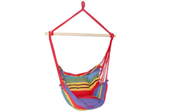 Hammock Swing Chair with Cushion Multicolour