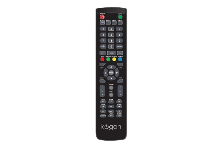 Kogan Remote for Z Series TVs (DVD)