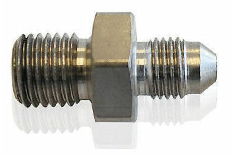"""Aeroflow 3/8""""-24 Inverted To -4AN Stainless Steel"""