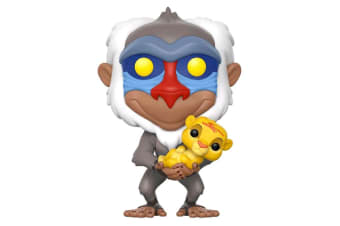 The Lion King Rafiki with Simba Pop! Vinyl
