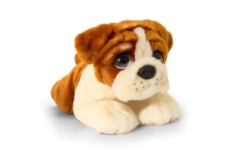 Keel 37cm Cuddle Pup Bulldog Kids/Children 3y+ Plush/Animal Toy Size Large Brown