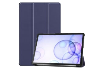 For Samsung Galaxy Tab S6 10.5 T860 2019 Case Smart Ultra Slim Stand Cover-Navy