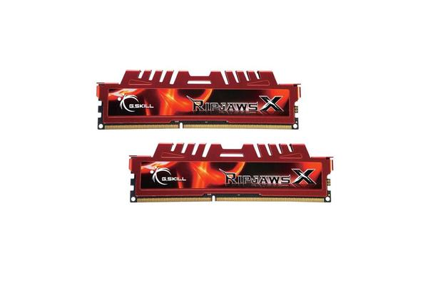 G.SKILL Ripjaws X 8GB (2x4GB) DDR3 1866MHz (PC3 14900) Ultra Performance Desktop Memory 240-Pin CL9