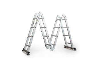 BULLET Pro 4.7m Multi-Purpose Ladder Aluminium Extension Folding Adjustable Step