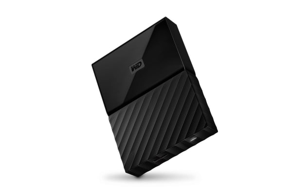 WD My Passport for MAC USB-C 2TB Portable Hard Drive (WDBLPG0020BBK-WESE)