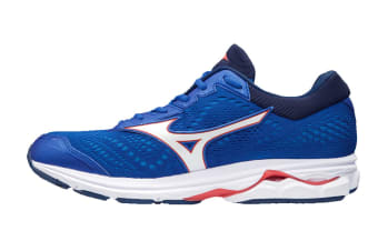 Mizuno Men's WAVE RIDER 22 Running Shoe (Blue, Size 9.5 US)