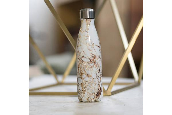 S'well Insulated Bottle 500ml Calacatta Gold