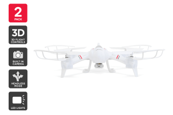 Kogan Ghost Drone (2 Pack)