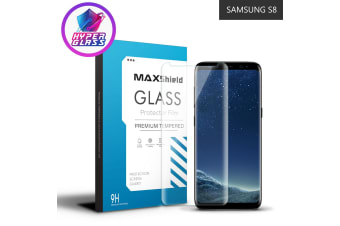 Galaxy S8 Case Friendly Tempered Glass Screen Protector