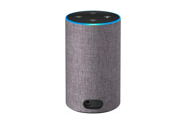 Amazon Echo (2nd Generation, Heather Grey Fabric)