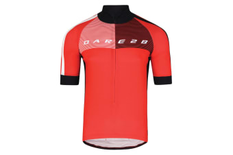 Dare2B Mens AEP Chase Out II Sports Top (Seville Red) (M)