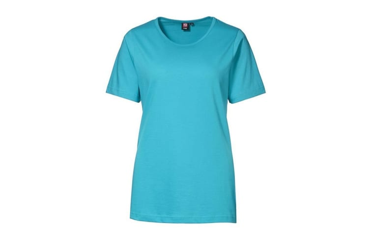 ID Womens/Ladies T-Time Quality Regular Fitting Short Sleeve T-Shirt (Turquoise) (XL)