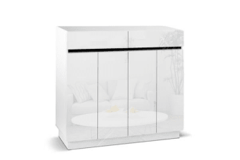 Artiss 32 Pair High Gloss Shoe Cabinet
