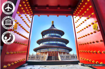 CHINA: 10 Day China Tour Including Flights for One, Two or Three