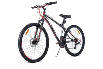Huffy 27.5 Inch 70cm Mountain Bike Suspension Mens Womens Unisex Bicycle Shimano