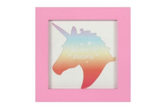 Something Different Unicorn Photo Frame (Pink) (One Size)