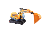 Kids Ride On Excavator (Yellow)