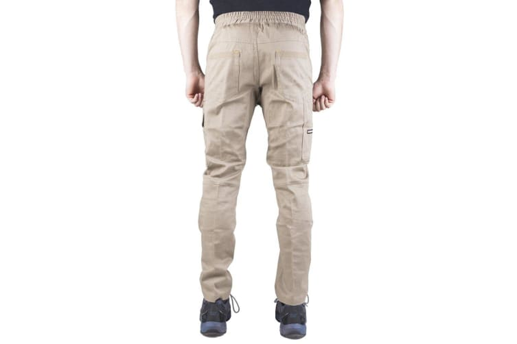 Caterpillar Mens Dynamic Trousers (Khaki) (36 L)