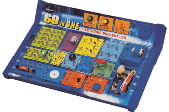 60 In 1 Electronics Lab Kit teach kids about the fundamentals of electronics