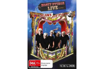 Monty Python Live (Almost) One Down Five to Go - DVD - John Cleese