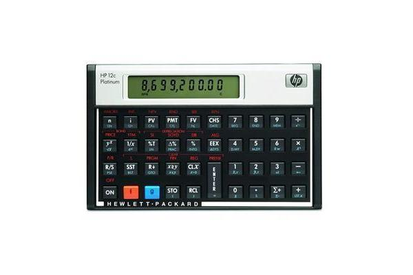 HP F2231A Financial Calculator 12C Platinum