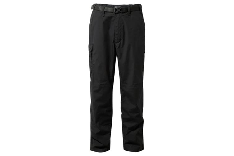 Craghoppers Outdoor Classic Mens Kiwi Stain Resistant Trousers (Black) (36S)
