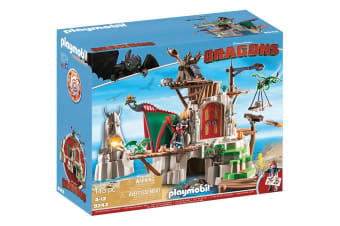 Playmobil How to Train Your Dragon Berk Castle