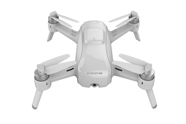 Yuneec Breeze 4K Drone with 3 Batteries + BONUS FPV System - White