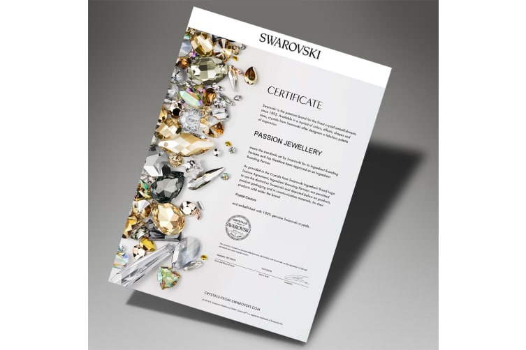 Boxed 2 Pieces Jewellery Set Embellished with Swarovski crystals