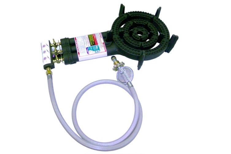 Auscrown Triple Ring LP Burner with Hose & Regulator