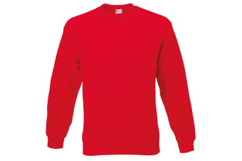 Mens Jersey Sweater (Classic Red)