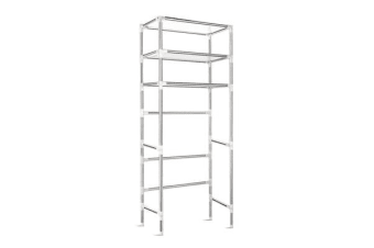 3 Tier Laundry Storage Rack (Silver)