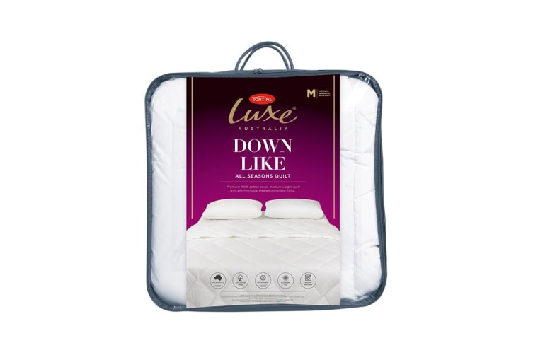 Tontine Luxe Downlike Quilt (Single)