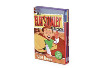 The Flat Stanley Collection Box Set - Flat Stanley, Invisible Stanley, Stanley in Space, and Stanley, Flat Again!
