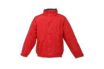 Regatta Dover Waterproof Windproof Jacket (Thermo-Guard Insulation) (Classic Red/Navy) (4XL)