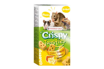 Versele-Laga Crispy Toasties Small Animal Treats (Cheese)