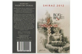 Horvat Estate  Native Youth - Victoria Shiraz - 2012