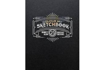 Colour My Sketchbook - Adult Colouring Book