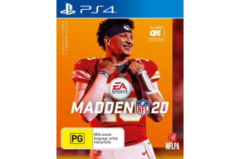 Madden NFL 20 PS4 PlayStation 4 Game - Disc Like New