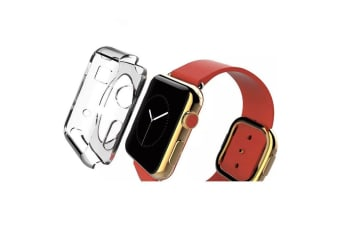 For Apple Watch 1 2 3 4(40mm 38mm) Transparent Crystal TPU Protective Case