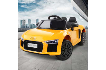 Kids Ride On Car Audi Licensed Battery Electric Toy Remote Control 12V