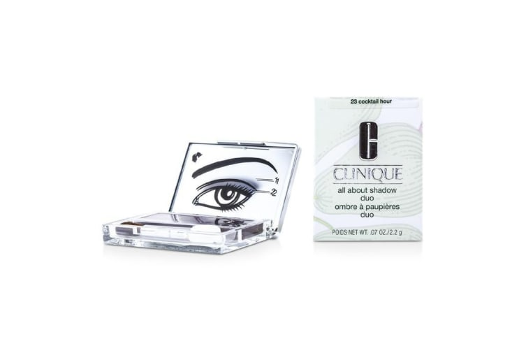Clinique All About Shadow Duo - # 23 Cocktail Hour 2.2g