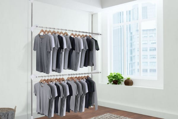 Ovela Telescopic Clothes Rack